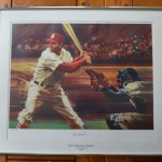 Stan Musial Lithograph