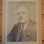 Vintage Roosevelt Political Poster