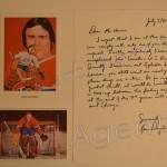 Ken Dryden Letter